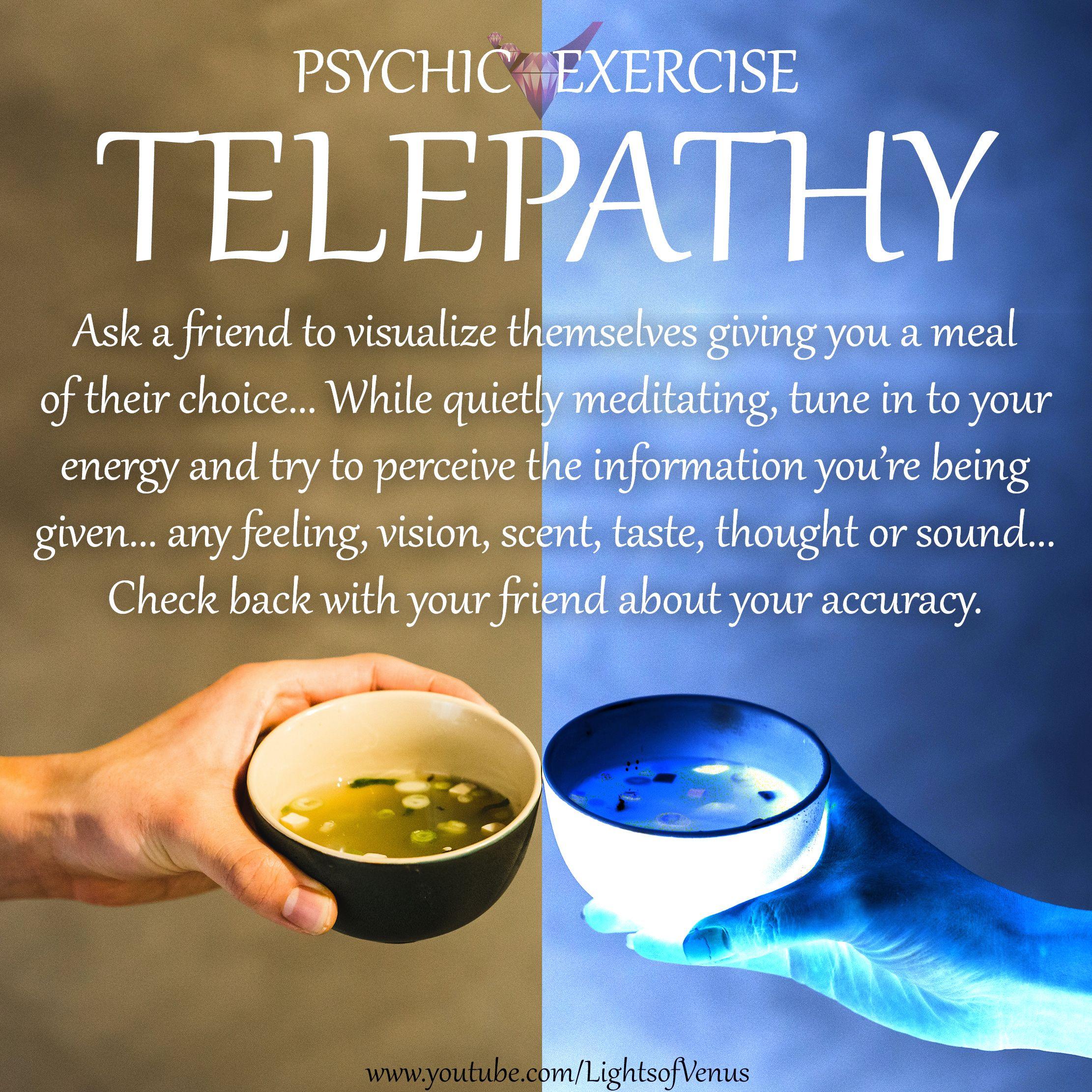 Telepathy test with friend