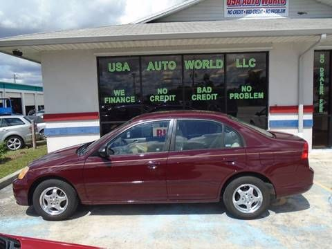 We Have This Quick 2003 Honda Civic LX For Sale. It Has 4 Doors,
