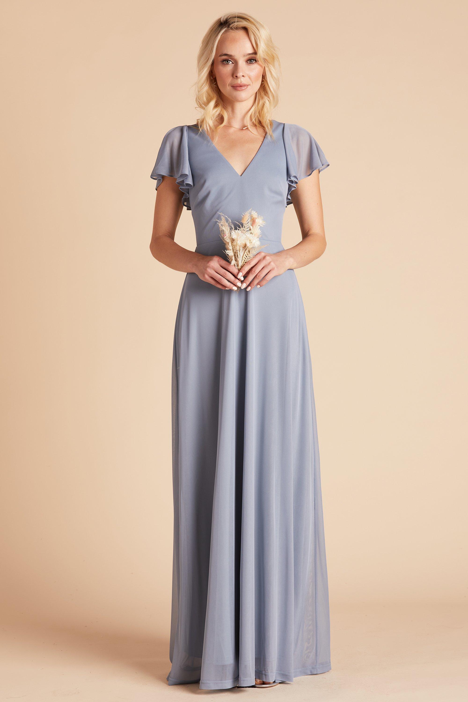 Hannah Dress Dusty Blue In 2021 Dusty Blue Bridesmaid Dresses Long Sleeve Bridesmaid Dress Bridesmaid Dresses With Sleeves [ 3000 x 2000 Pixel ]