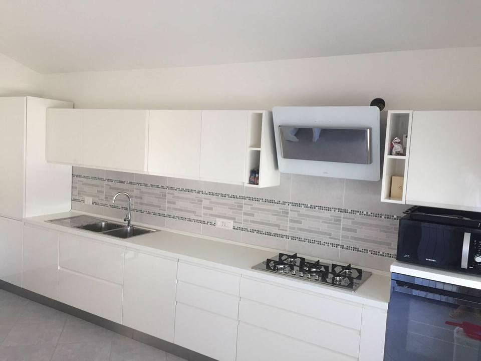 Design moderno: Wega di Arredo3 Cucine versione total White ...