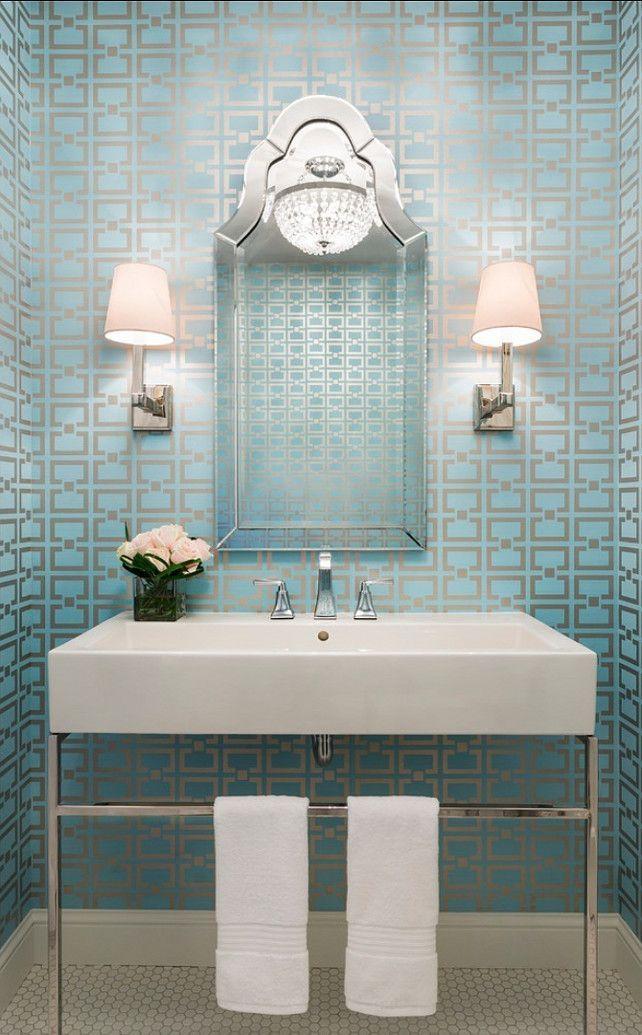behang in badkamer - Google zoeken | Badkamer | Pinterest - Badkamer ...
