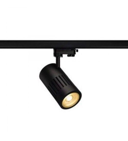 3 Fase Rail LED Spot Zwart 24 Watt 36Graden | Rail Verlichting ...