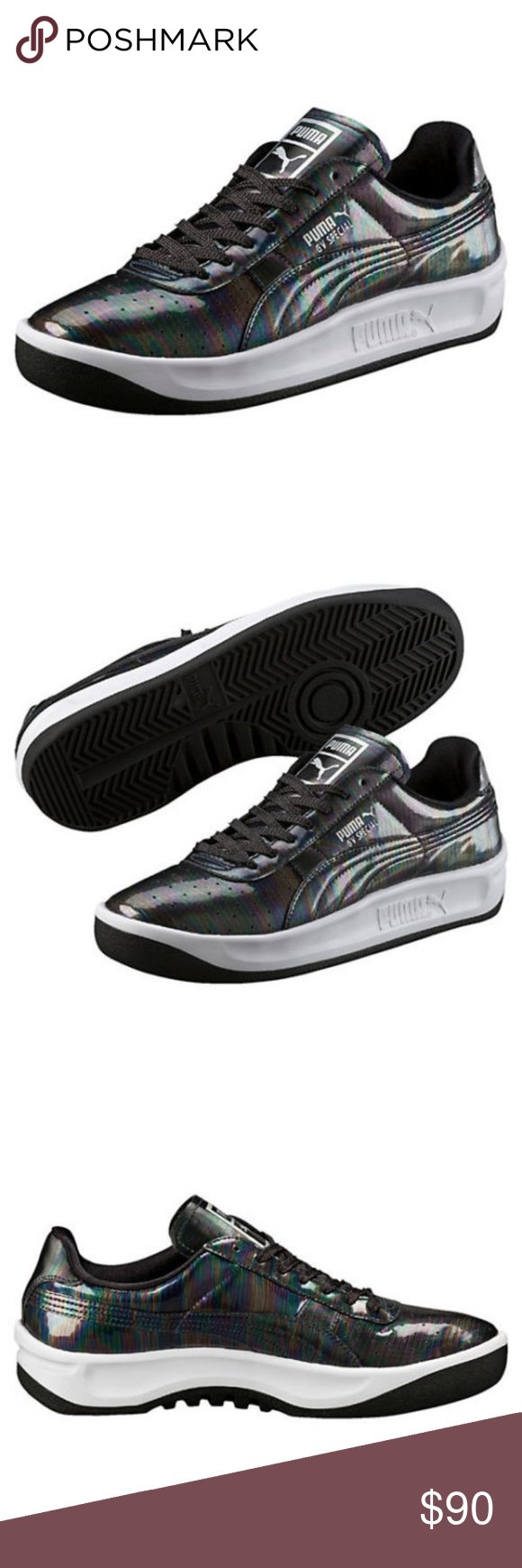 900ae033cbe6 MEN S PUMA GV SPECIAL IRIDESCENT BLACK-BLACK 36111 Condition  New with box   A