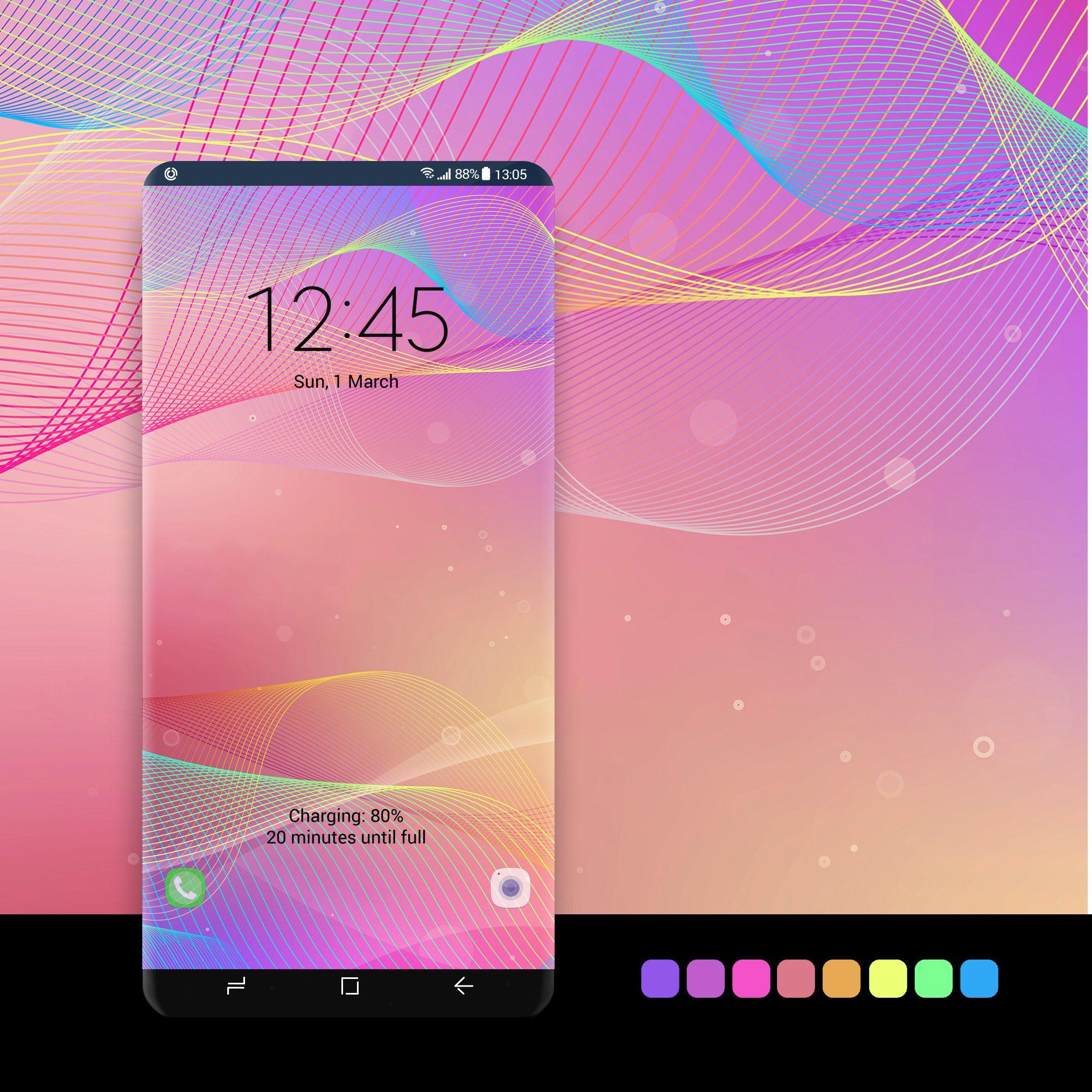 Rainbow Pastel wallpaper zerustudio#wallpaper, #android