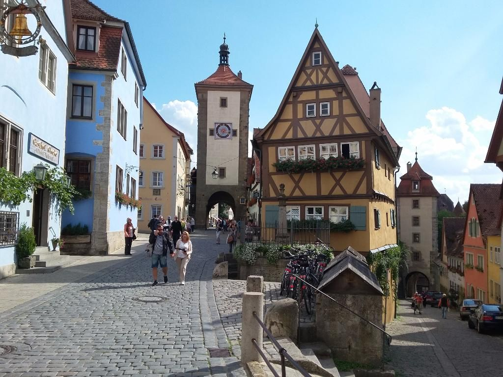 Old Town One Of The Most Beautiful Cities In Germany Rothenburg Germany Deutschland