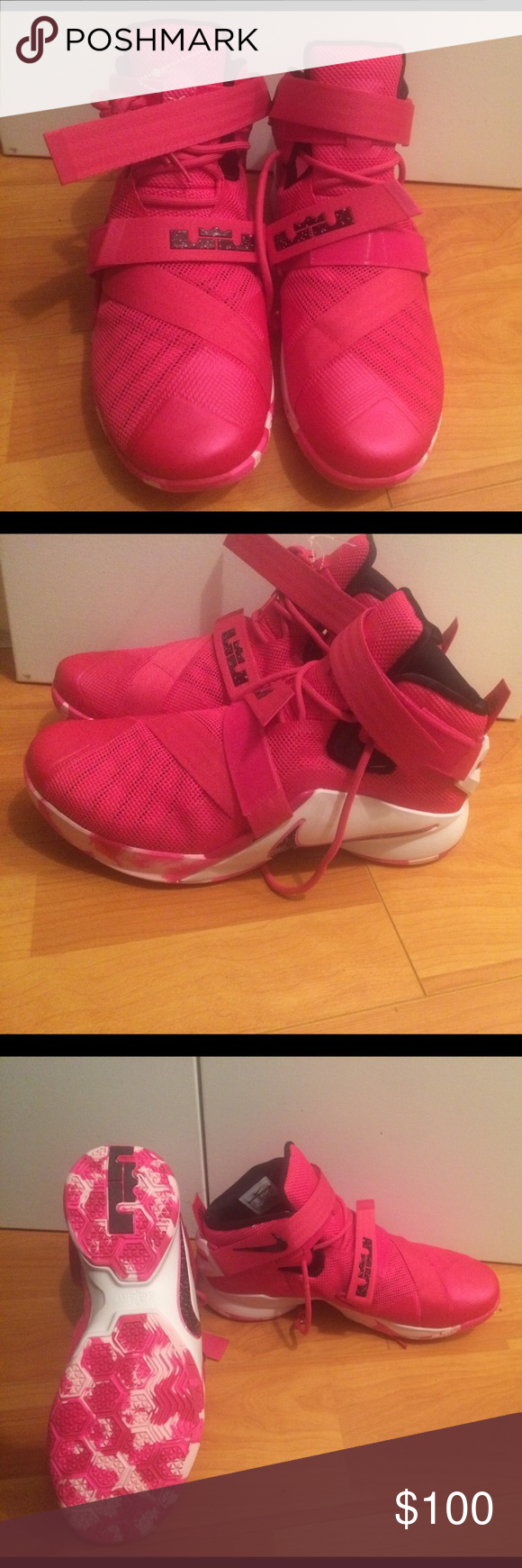 5e4d95ff624fb ... discount code for nike lebron soldier 9 think pink nwot nwt f77e0 927b7