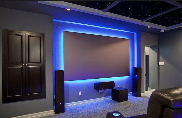 Home Cinema Room Diy Projector Screens