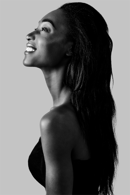 Flora Losilo is a freelance Make-up artist and fashion model from Kinshasa, Congo based in the United Kingdom