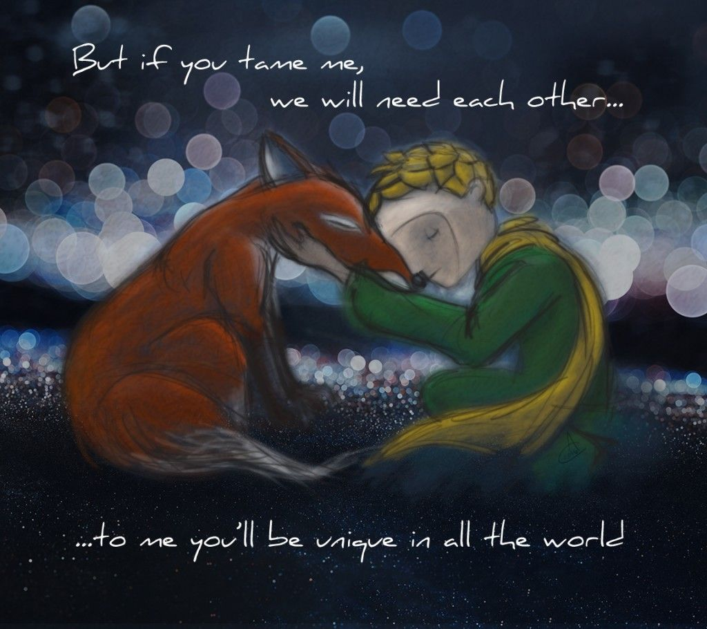 "Little Prince Love Quotes The Little Prince And The Fox""athena Cooper  Inspiredthe"