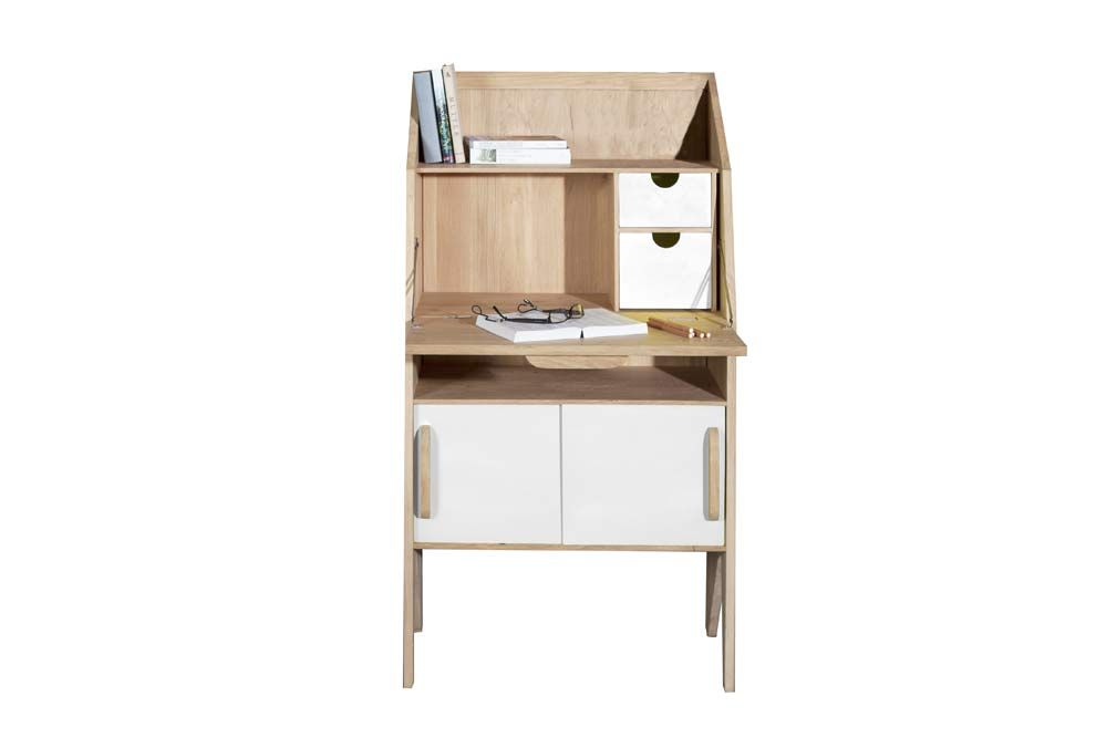Secr taire origami studio mr marius ann es 50 design mr - Bureau secretaire design ...