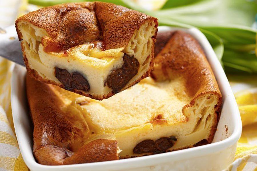Recette de far breton aux pruneaux au thermomix tm31 ou tm5 pr parez ce dessert en mode tape - Cuisine legere thermomix ...