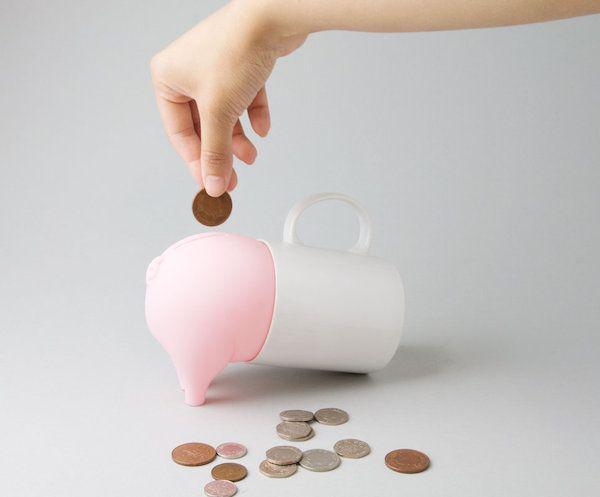 愛吃硬幣的貪吃小豬,超萌超有個性的創意存錢筒 | 大人物