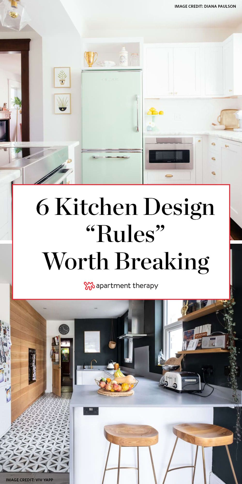 6 Kitchen Rules You Can Break Right Now According To An Interior Designer In 2020 Kitchen Rules Kitchen Trends Kitchen Design