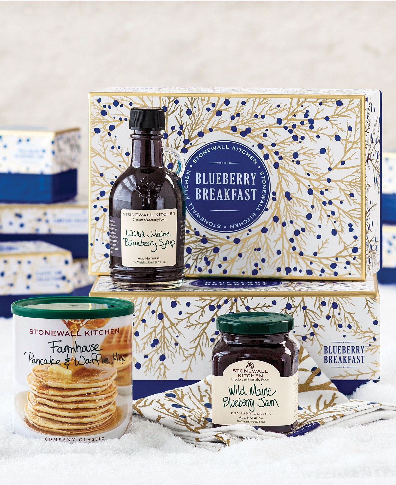 Stonewall Kitchen, Blueberry Breakfast Collection - Gourmet Food & Gifts - For The Home - Macy's