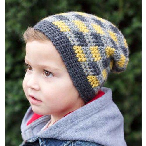 Free plaid slouchy beanie pattern crochet pinterest slouchy free plaid slouchy beanie pattern dt1010fo