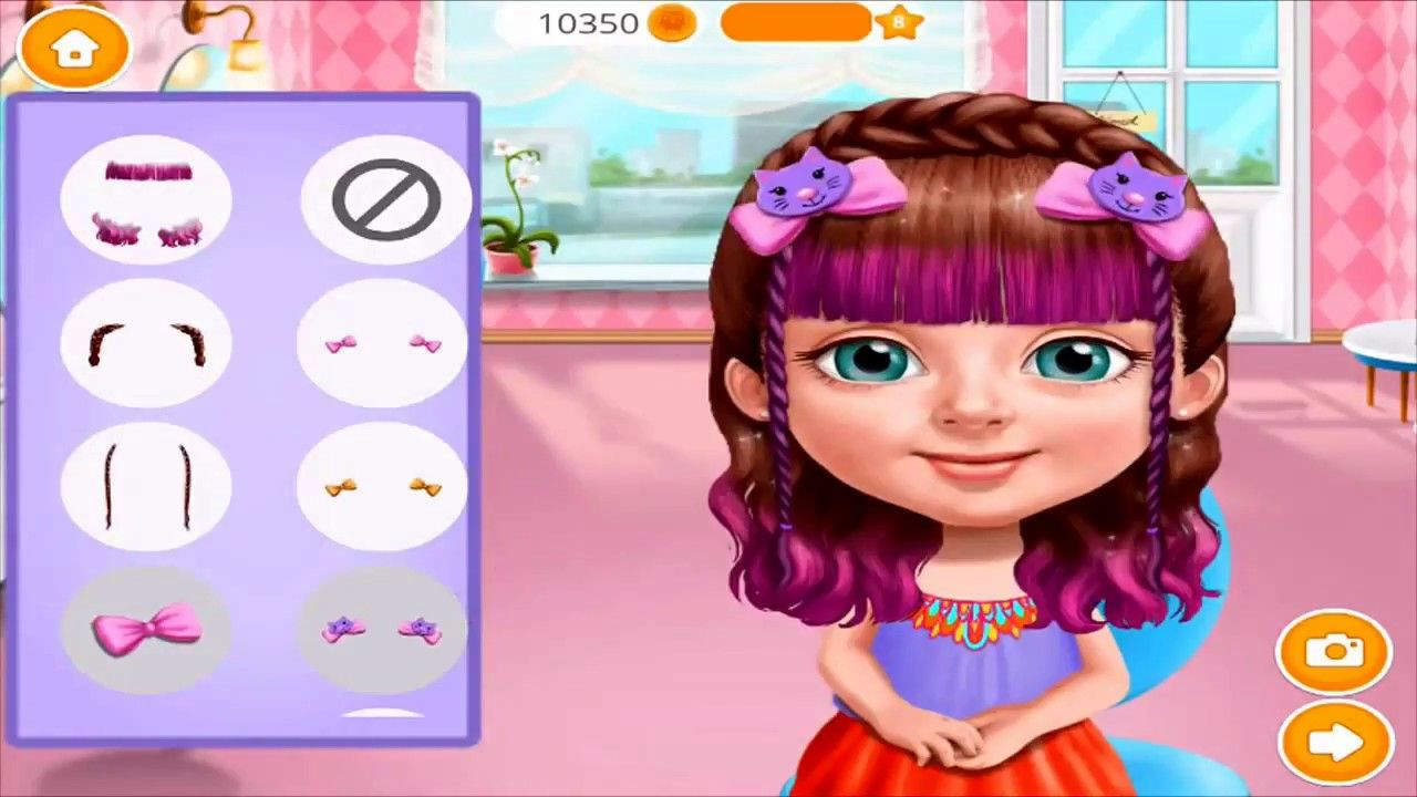 Best Games For Kids Fun Baby Girl Play Games Sweet Baby Girl Summer Fun 2 Dress Up Beauty Saloon Fun Games For Kids Baby Girl Summer Cool Baby Stuff