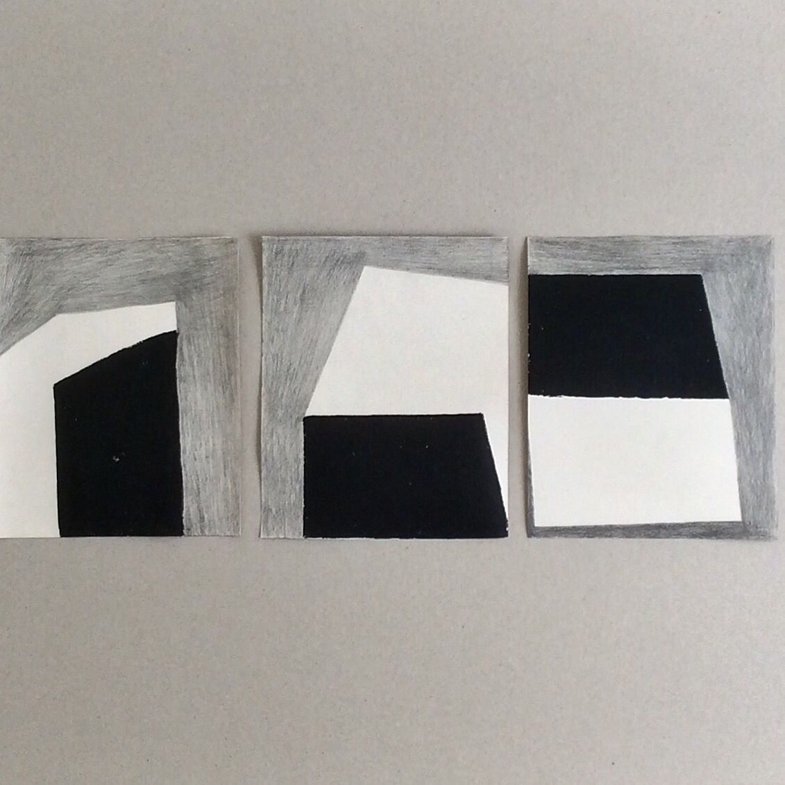 Notes from the studio.  The 'Shadow Generator' series.  Monoprint and graphite on wallpaper lining paper.