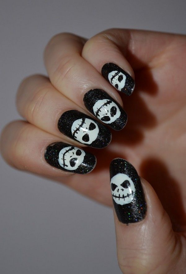 nightmare before christmas nails - Google Search | NBC | Pinterest ...