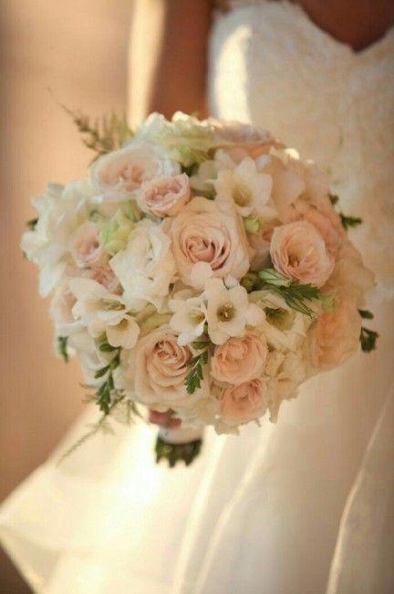 Bouquet Sposa Color Pesca.Bouquet Rosa Pesca 13 Bouquet Matrimonio Bouquet Da Sposa E