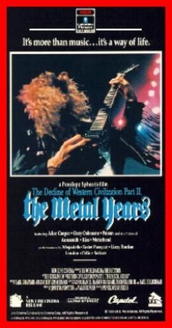 """This follow-up to filmmaker Penelope Spheeris' classic 1981 """"punk"""" documentary The Decline of Western Civilization is a bit more reflective and word-dominated than its predecessor, but no less entertaining."""