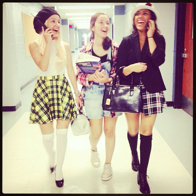 Clueless Costume Cher Tai And Dionne Clueless Costume Clueless Halloween Costume Cher Clueless Costume
