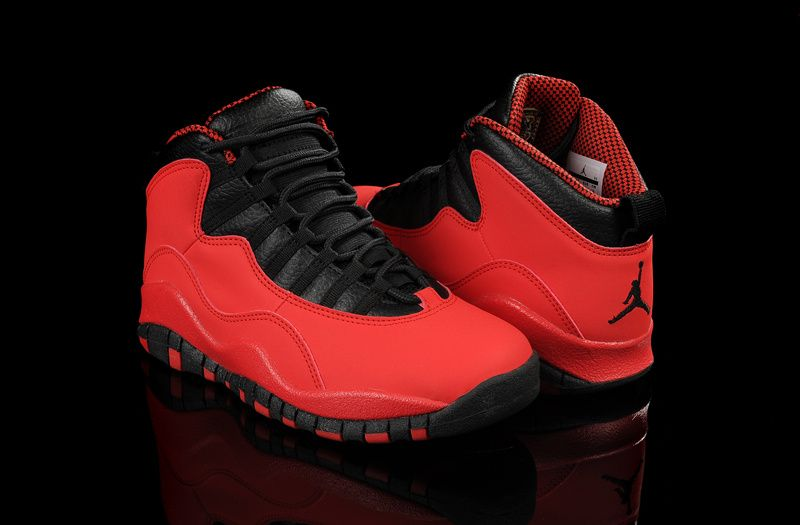 0f8439fc84b7 Air Jordan 10 GS Fusion Red Black Laser Orange  94.99