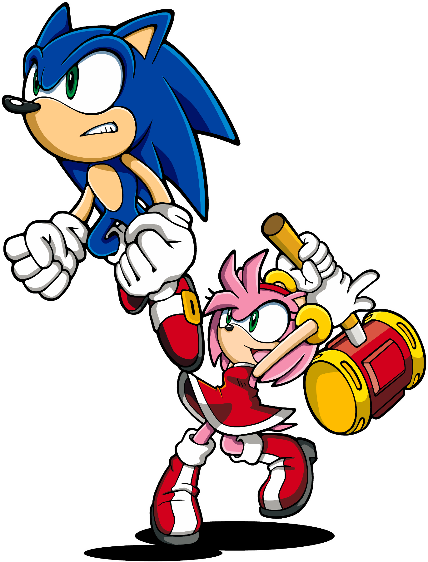 ask sonic and amy - Google Search | Sonamy! | Sonic advance
