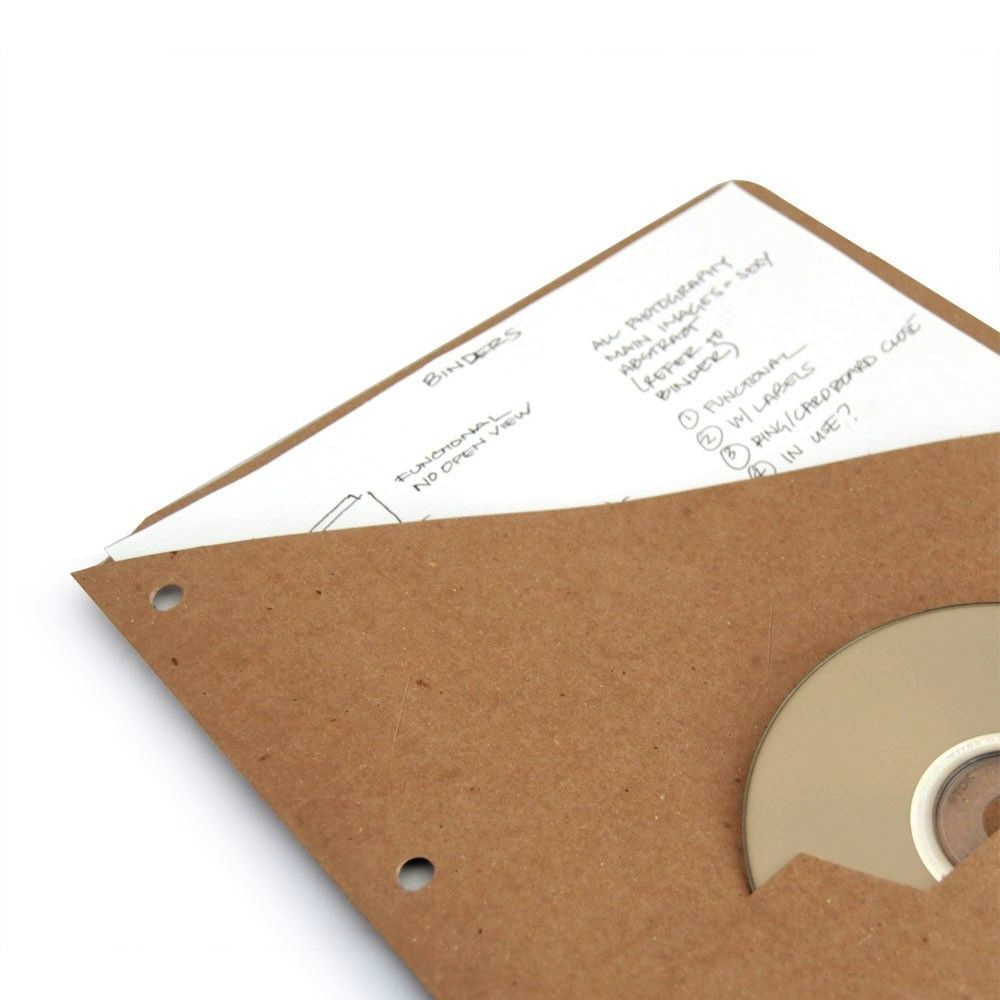 Recycled Slash Binder Pocket - Single Pocket