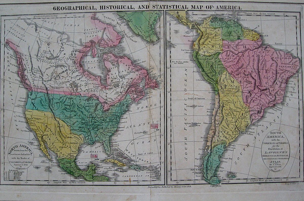 Antique Map Psofantiquity Geographical