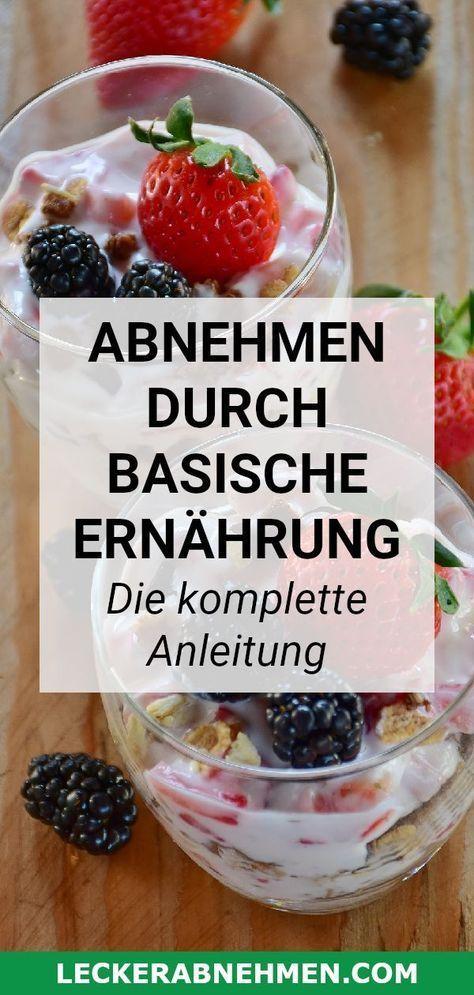 Photo of Basische Ernährung zum Abnehmen – Der komplette Guide