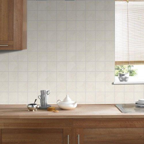 Tapete Graham  Brown Fliesen creme 33-060 Küche Küchentapeten - fliesen tapete küche