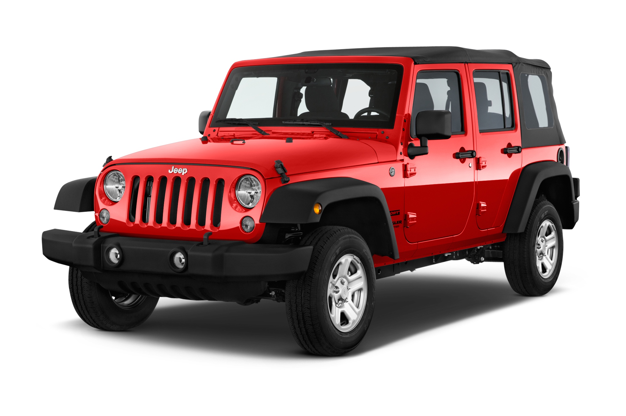 2016 jeep wrangler unlimited sport suv angular front 2048