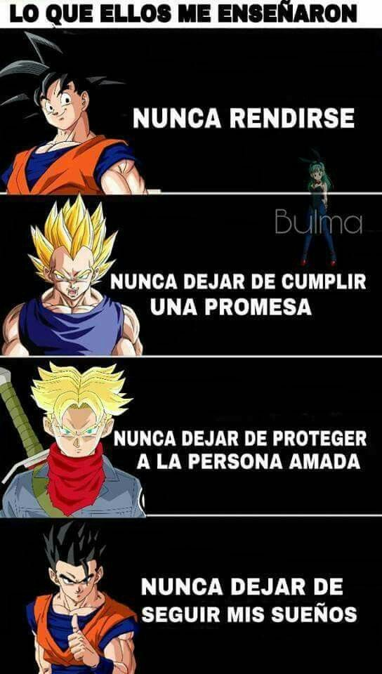 Gracias X Todo Los Amo Frases Goku Personajes De Goku Genkidama