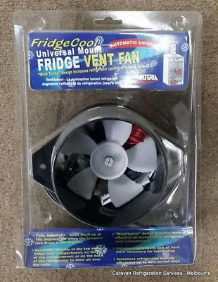 Sponsored Ebay 3 Way Fridge Fan 12 Volt Caravan Fridge Vent Fan Valterra Auto On Off With Temp Caravan Camper Parts Caravan Parts