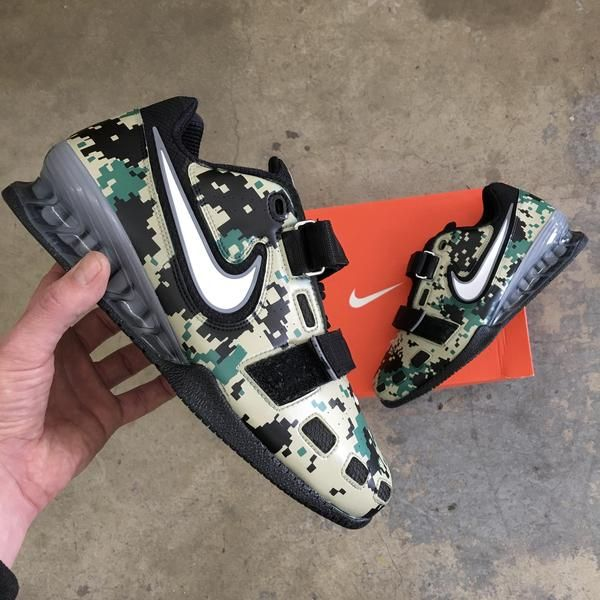 Romaleos Camo Marpat Aangepaste digitale Nike Painted Usmc qwxYEt