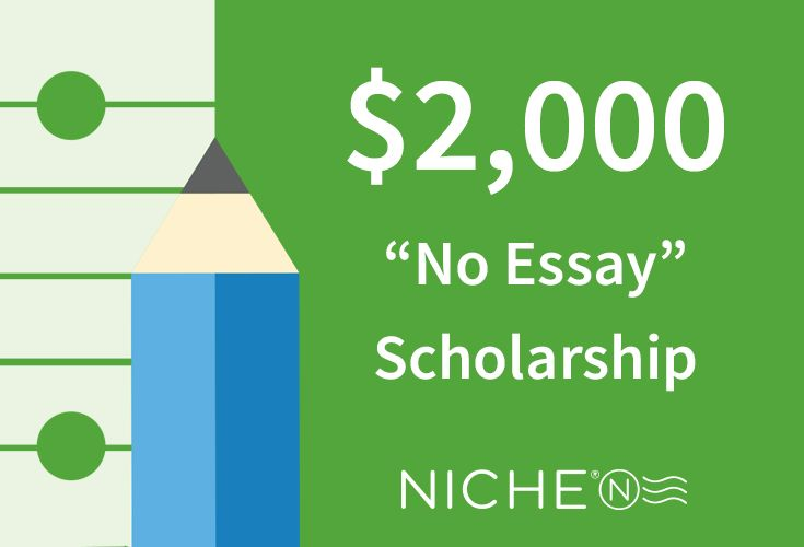 No Essay Scholarship Is Awarded Monthly Open To High School And
