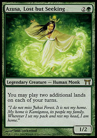 Azusa Lost But Seeking Masters 25 Magic The Gathering Cards
