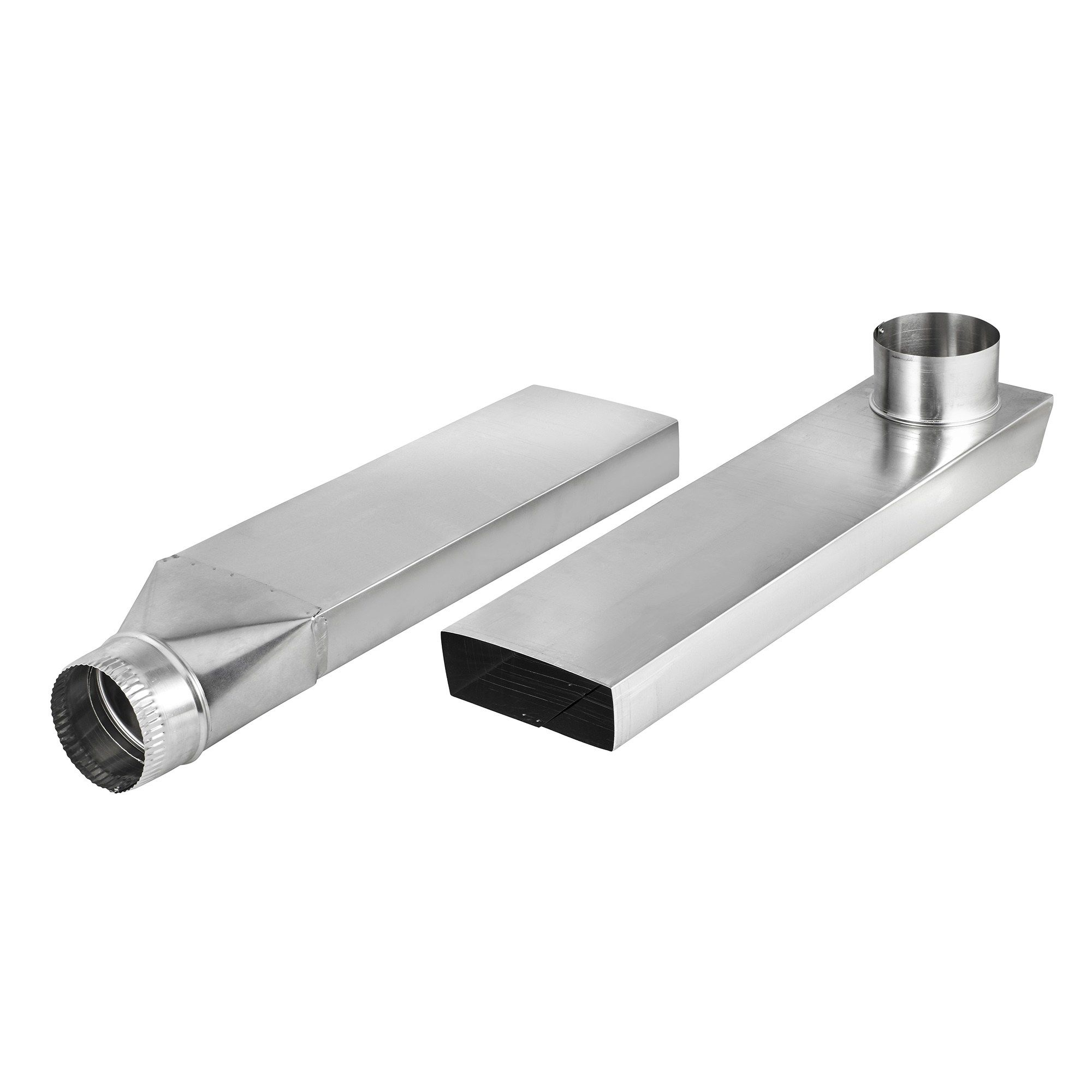 Vent Duct Size : Space saving aluminum dryer vent duct is ideal for use in
