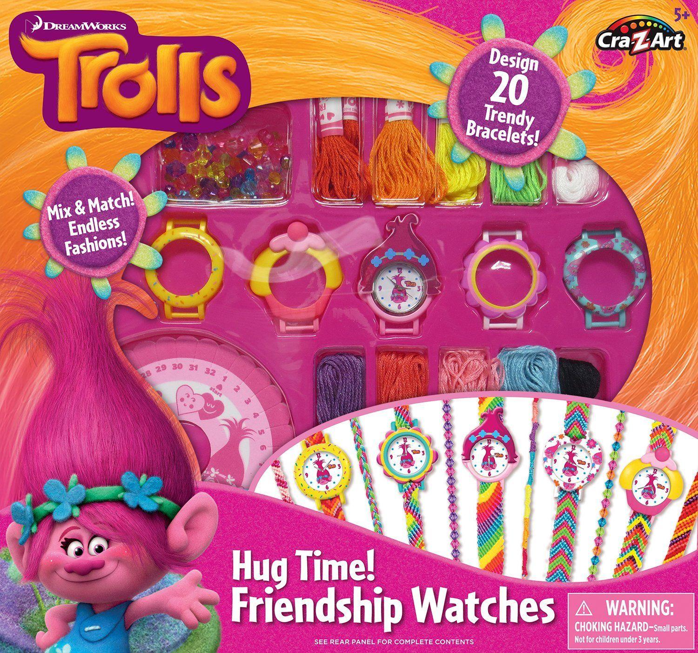 CraZArt Trolls Hug Time Friendship Watches