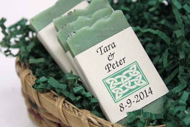 Peter Taras Wedding Soap Favors Irish Themed Allthingsherbal
