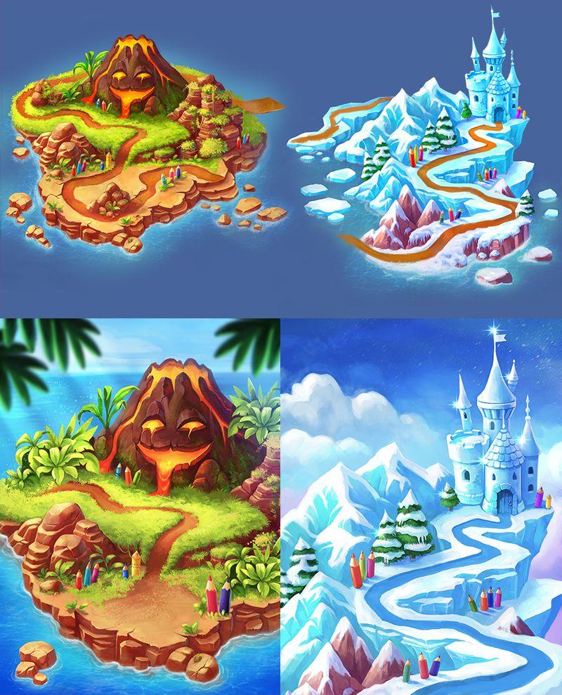 Color Quest maps on Behance