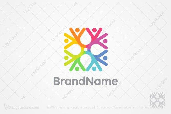 Life In A Square Logo Square Logo Healthcare Logo Holistic Therapist