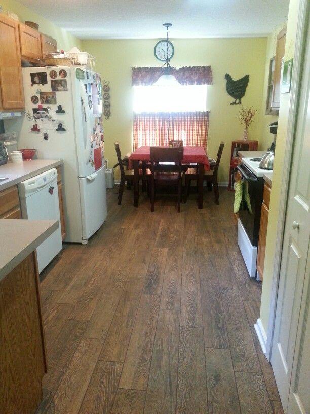 Cambridge Oak Tile From Ragno In My Kitchen A Dream Come True