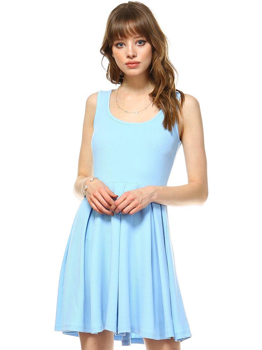 Adorewe stylewe mini dressesdesigner white mark carolina blue
