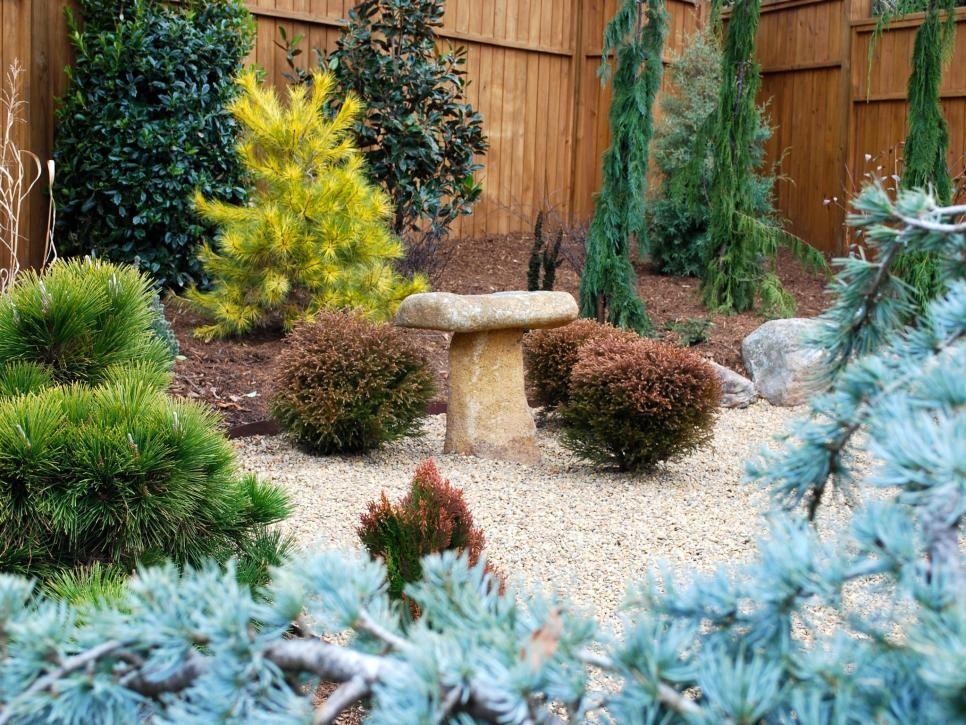 20 Classic Cozy Patterns We Love Hgtv Garden Design Fall Landscaping Meditation Garden