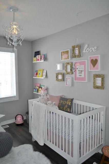 Decora o de quarto de beb simples quartos beb pinterest - Como decorar habitaciones para bebes ...