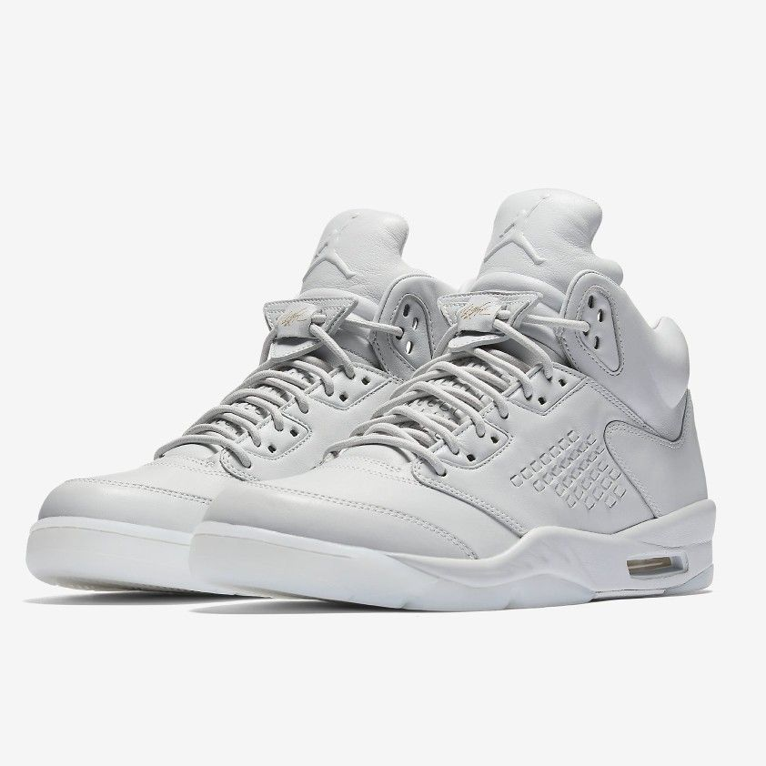 new product 4a013 ffcaa ... Jordan Brand pushes the envelope in bringing the best materials to the  shoes MJ made famous. The Air Jordan 5 Premium, which debuted earlier this  year ...
