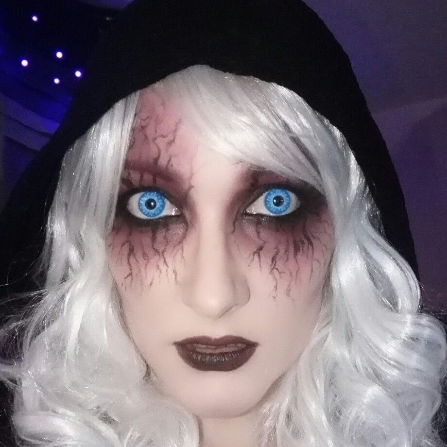 Halloween, fallen angel, demon Makeup (With images