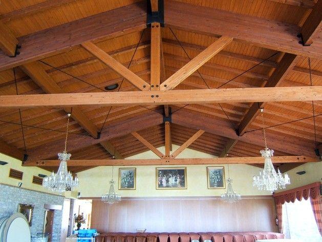 Con cerchas construcciones en madera construcciones pinterest wood pergola y carpentry - Como hacer cobertizo de madera ...