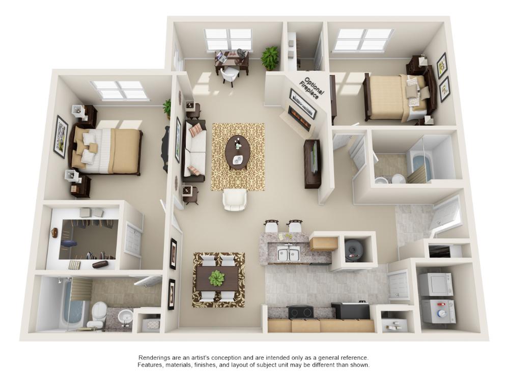 1 And 2 Bedroom Floor Plans Floor Plans 2 Bedroom Floor Plans Apartment Layout